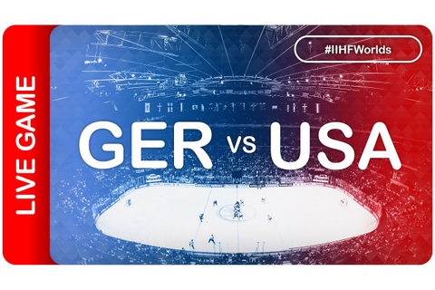 Germany vs USA | Game 44 | #IIHFWorlds 2016 - YouTube