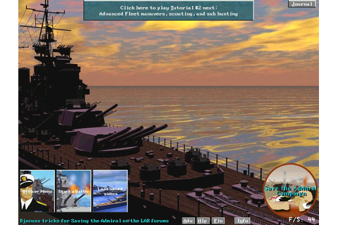 Lost Admiral Returns - Enjoy playing this naval strategy game