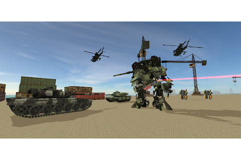 Urban War Robot Tank game (apk) free download for Android ...