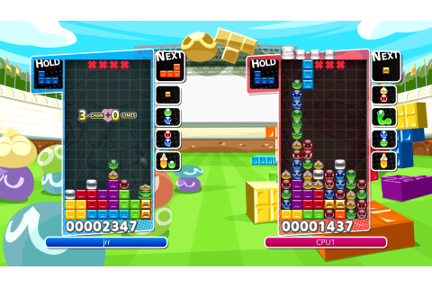 Puyo Puyo Tetris (Nintendo Switch) Game Profile | News ...