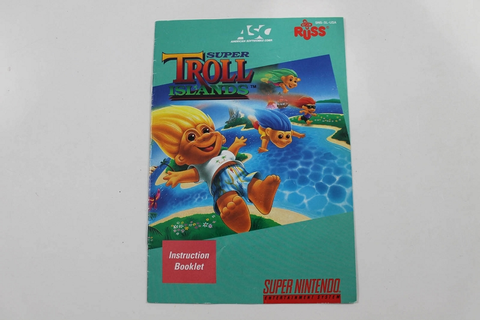 Manual - Super Troll Islands - Snes Super Nintendo