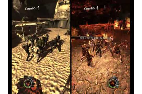 The Cursed Crusade [PC] - SplitScreen Gameplay [High ...