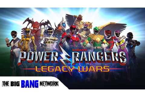Power Rangers Legacy Wars Video Game REVIEW!!! - YouTube