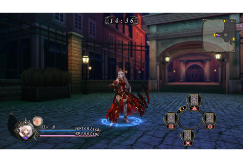 New Games: NIGHTS OF AZURE (PS4) | The Entertainment Factor