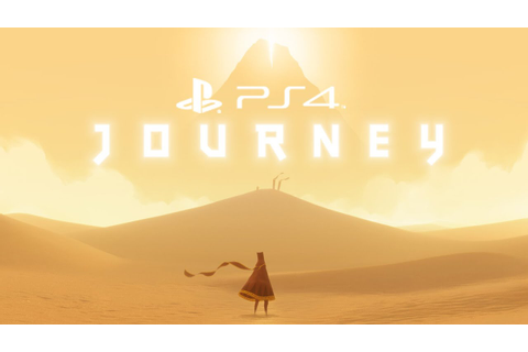 Journey PS4 Gameplay Walkthrough Part 1 - YouTube