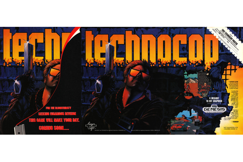 He's not just a cop. He's Technocop! (1990). #retrogaming ...