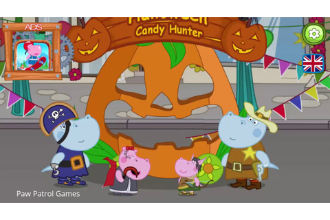 Paw Patrol Games - Halloween Candy Hunter - Fun Game For ...