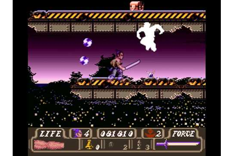 SNES - First Samurai - Longplay - YouTube
