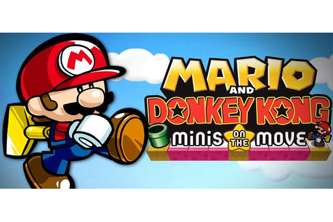 Mario and Donkey Kong Minis on the Move Decrypted Rom Download