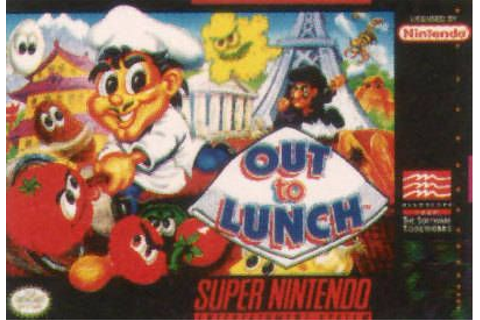 Out To Lunch (SNES) on Collectorz.com Core Games