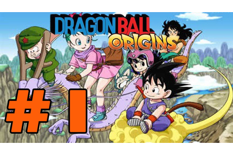"Dragon Ball: Origins DS Parte 1 ""1-1 Bulma y Goku ..."