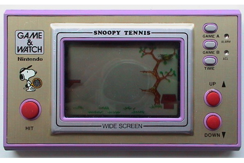 Snoopy Tennis | game & watch .net