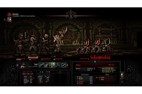 Darkest Dungeon creeps onto PS4 and PS Vita on 27 ...