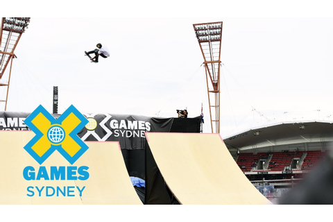 Skateboard Big Air Final: FULL SHOW | at X Games Sydney ...