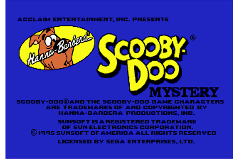 Download Scooby-Doo Mystery (Genesis) - My Abandonware