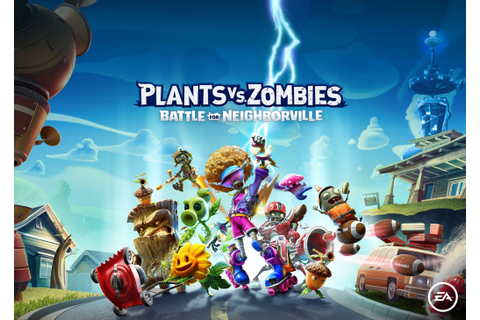 Plants vs. Zombies: Battle for Neighborville Announced ...