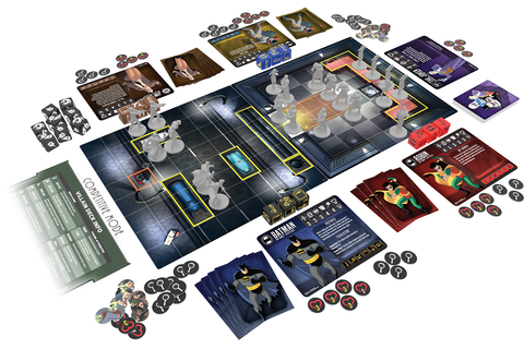 New BATMAN: THE ANIMATED SERIES Board Game On Its Way ...