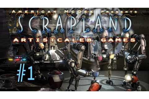 American Mcgee Presents: Scrapland gameplay 1 - YouTube