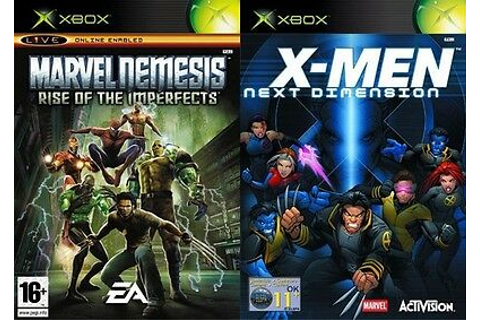 marvel nemesis rise of the imperfects & x men next ...