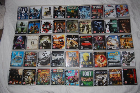 Re: Anybody Got The Entire PS3 Games Collection Fr ...