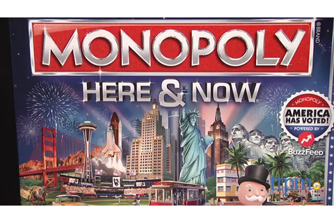 Monopoly Here & Now from Hasbro - YouTube
