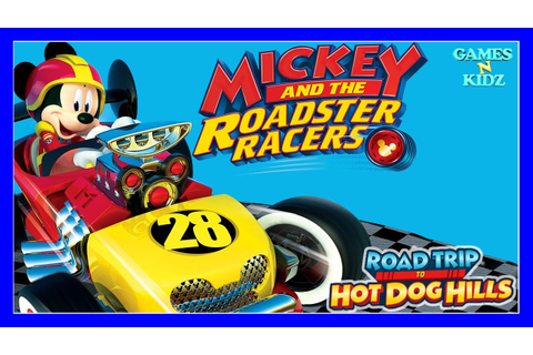 Mickey And The Roadster Racers: Road Trip To Hot Dog Hills ...
