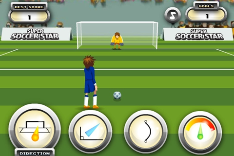 Super Soccer Star Game - Soccer games - Games Loon