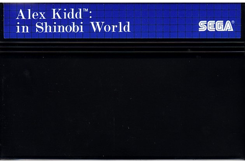 Alex Kidd in Shinobi World Details - LaunchBox Games Database