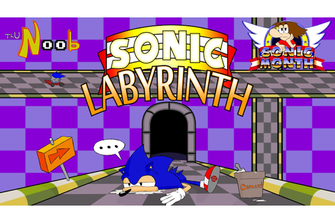 Sonic Labyrinth, ThuN00b Review - YouTube