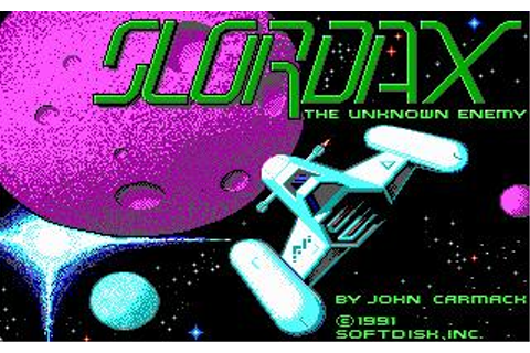 Slordax: The Unknown Enemy Download (1991 Arcade action Game)