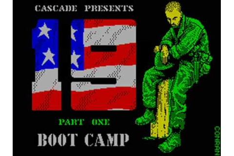 19 Part One - Boot Camp (E) (2 sides) ROM
