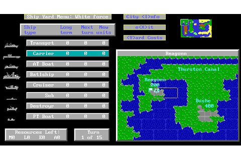 Lost Admiral - Enjoy playing this classic QQP strategy game