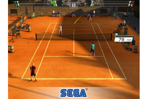 Virtua Tennis Challenge IPA Cracked for iOS Free Download