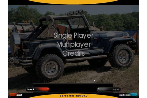 Screamer 4x4 Download (2000 Simulation Game)