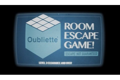 Enter the Oubliette Room Escape | Emily Short's ...