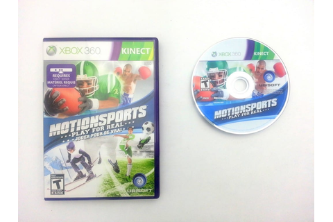 MotionSports game for Xbox 360 | The Game Guy