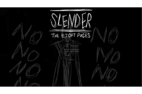 Slender The Eight Pages Game Controls - getdx