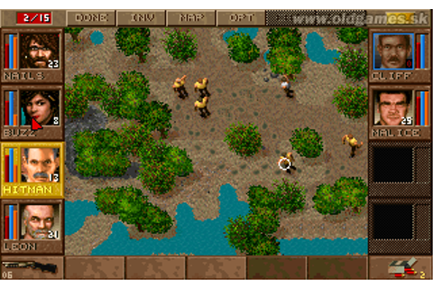 Jagged Alliance: Deadly Games :: DJ OldGames