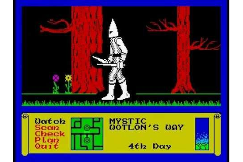 Dark Sceptre Walkthrough, ZX Spectrum - YouTube
