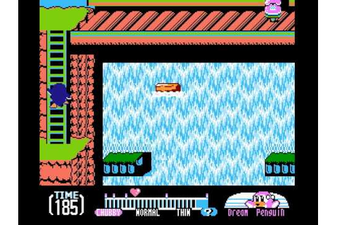 Yume Penguin Monogatari (NES, English) - Gameplay - YouTube