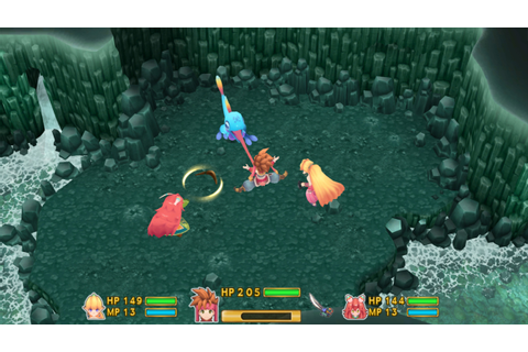 Secret Of Mana Remake New Screenshots Showcase UI ...