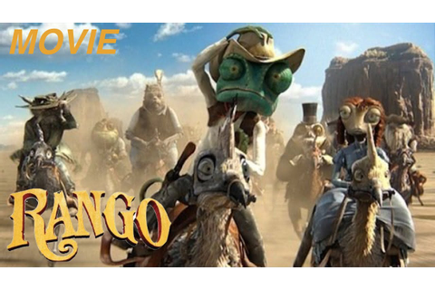 "RANGO - ""THE CHAMELEON SHERIFF"" -""THE MOVIE"" Let's Play ..."