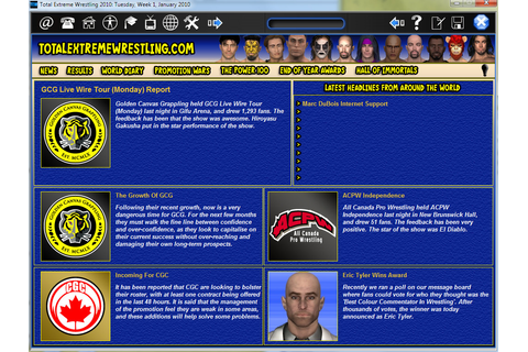 Download Total Extreme Wrestling Full PC Game