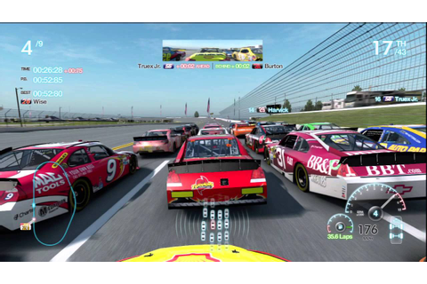 Talladega Chase Race 4 Gameplay Career Mode Nascar The ...