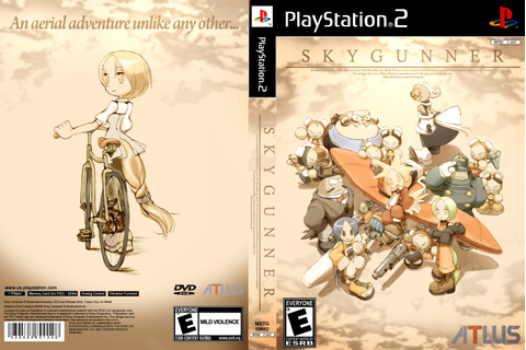 Skygunner PlayStation 2 Box Art Cover by Lordakira900