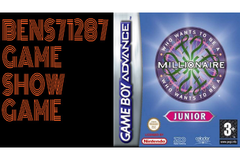 Who Wants To Be A Millionaire Jr. Edition GBA Game 1 - YouTube