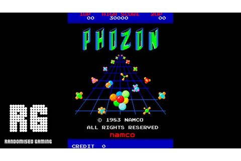 Phozon - Arcade Version Gameplay - YouTube