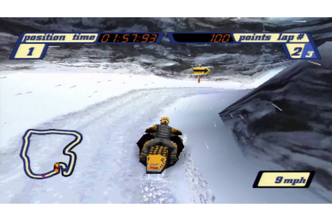 PS1 on PS3- Sled storm- HD - YouTube