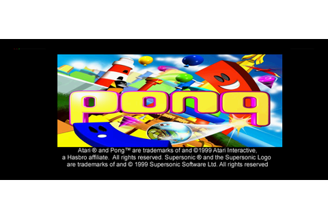 Pong: The Next Level (PSX) Game - Playstation Pong: The ...
