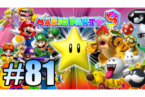 Wii Have Fun #81: Mario Party 9 (Game 1) - YouTube
